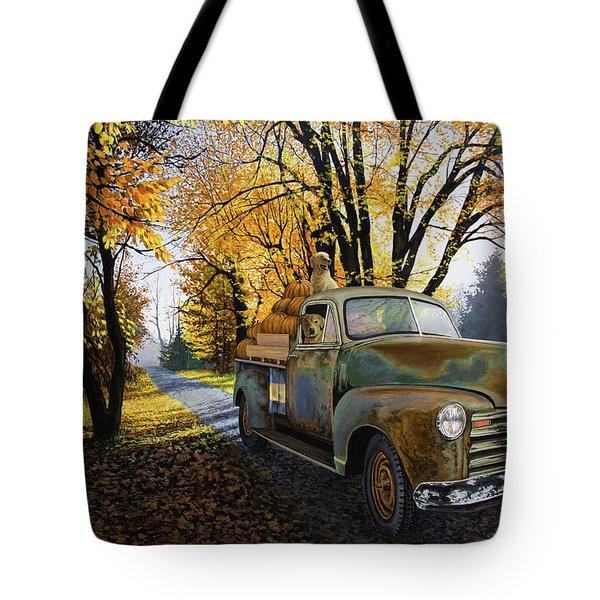 The Ol' Pumpkin Hauler Tote Bag
