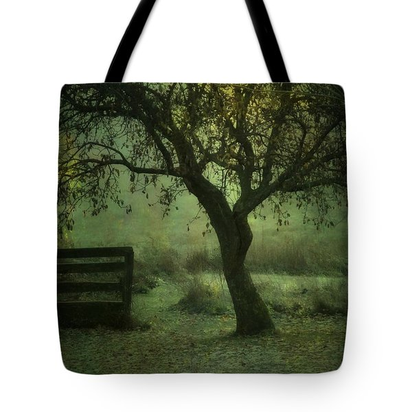 The Old Apple Tree Tote Bag