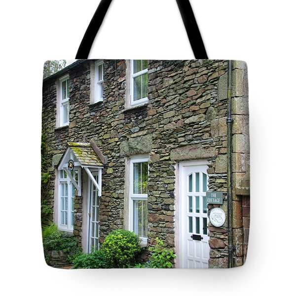 The Old Bakery Cottage In Grasmere  6725 Tote Bag