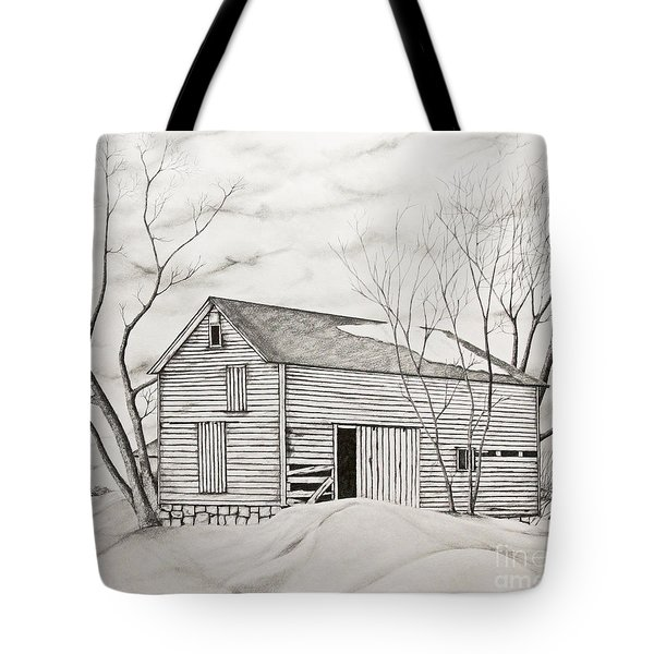 The Old Barn Inwinter Tote Bag
