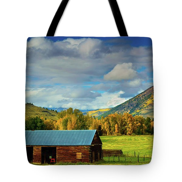 The Old Barn Tote Bag