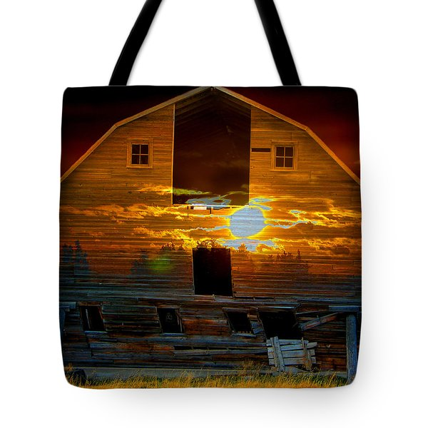 The Old Barn Tote Bag by Stuart Turnbull