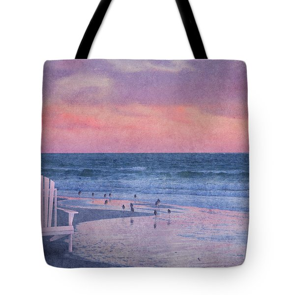 The Old Beach Chair Tote Bag