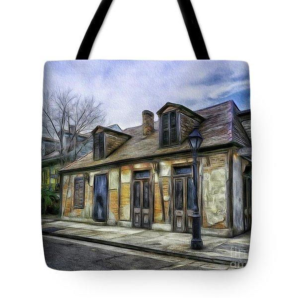 The Old Blacksmith Shop Tote Bag