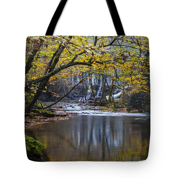 The Old Blanchard Mill Tote Bag