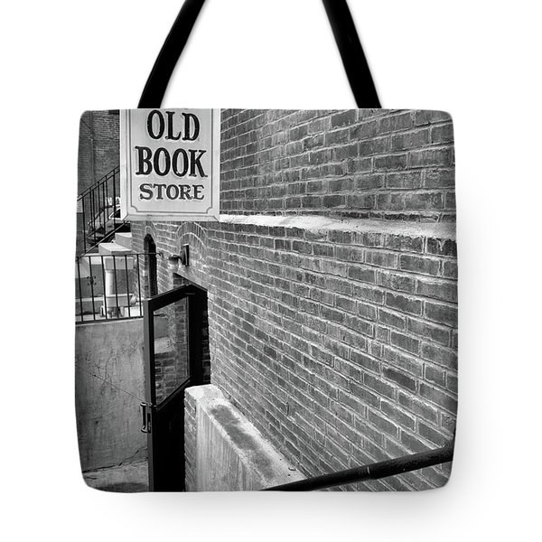 Tote Bag featuring the photograph The Old Book Store by Karol Livote