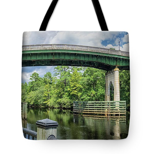 The Old Conway Bridge Tote Bag