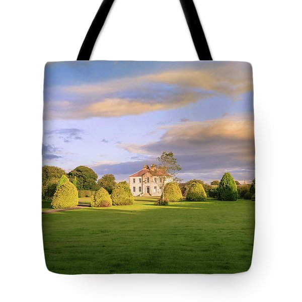 Tote Bag featuring the photograph The Old Country House by Roy McPeak