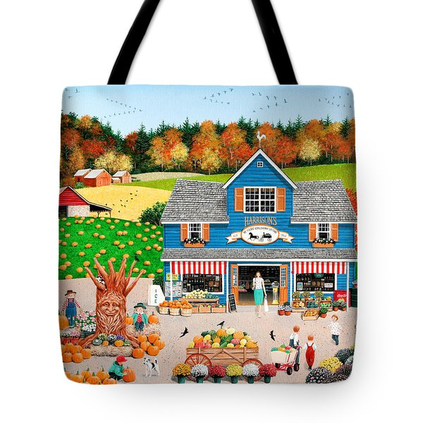 The Old Country Store Tote Bag by Wilfrido Limvalencia