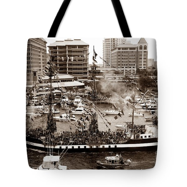 The Old Crew Of Gaspar Tote Bag
