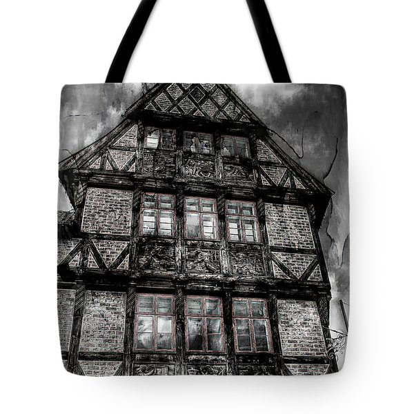The Old Danish Buiding Tote Bag