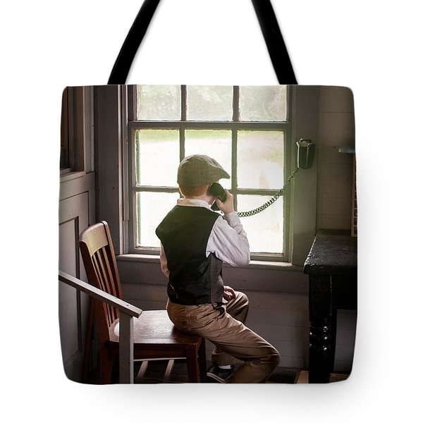 The Old Days Tote Bag