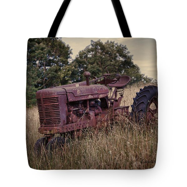 The Old Farmall Tote Bag