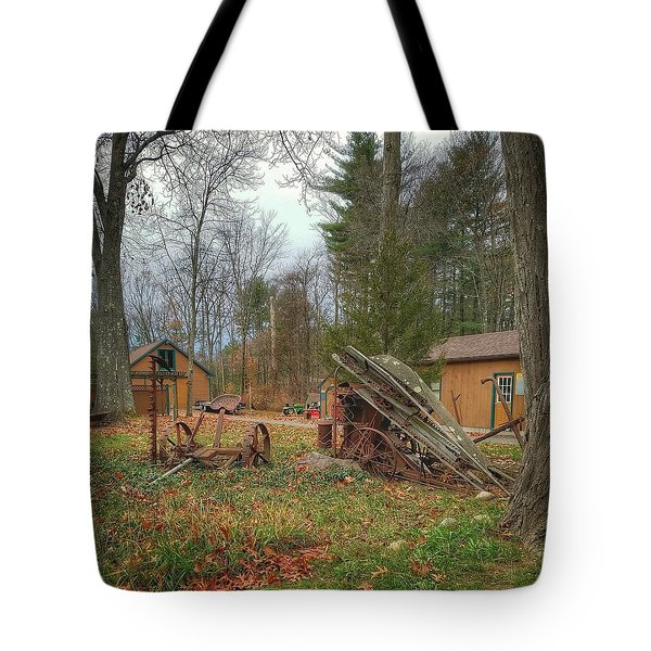 The Old Field Tools Tote Bag