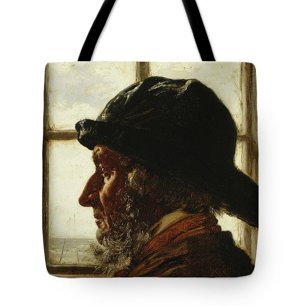 The Old Fisherman, 1873  Tote Bag