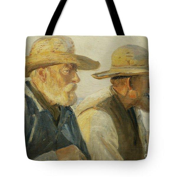 The Old Fishermen Tote Bag
