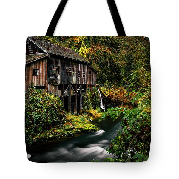 The Old Flour Mill Tote Bag
