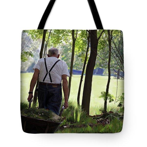 The Old Gardener Tote Bag