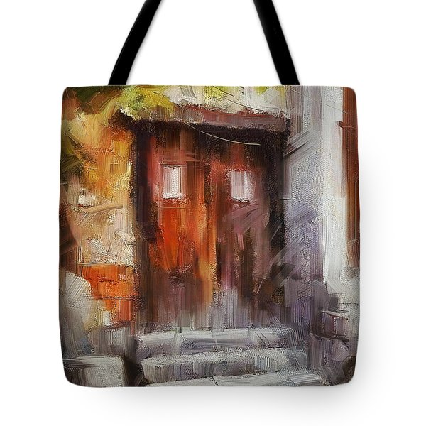 The Old Gate II Tote Bag