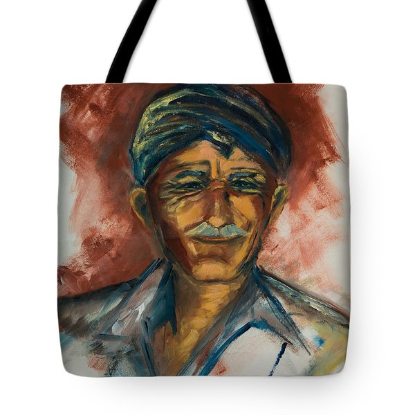 The Old Greek Man Tote Bag