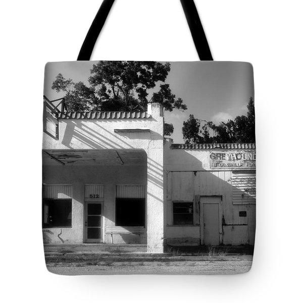 The Old Greyhound Station Tote Bag by David Lee Thompson