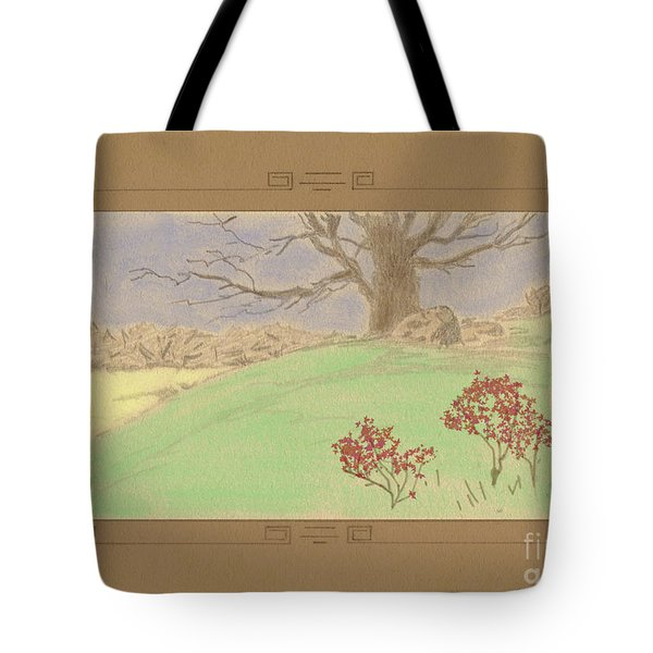 The Old Gully Tree Tote Bag