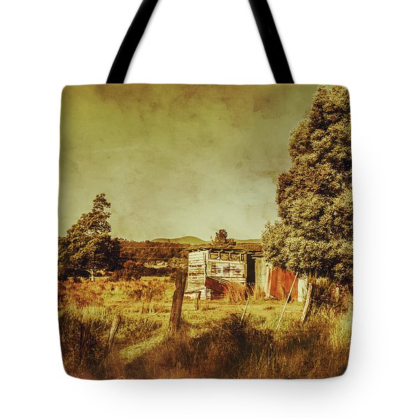The Old Hay Barn Tote Bag