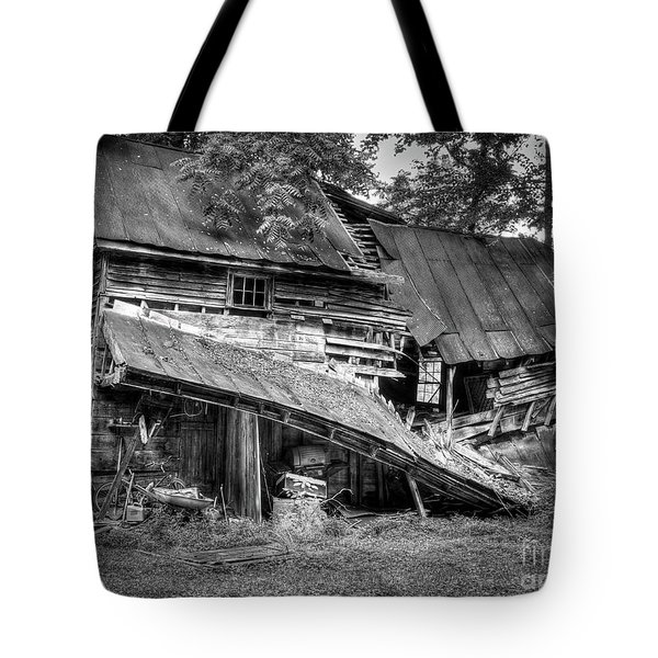 Tote Bag featuring the photograph The Old Homestead by Douglas Stucky