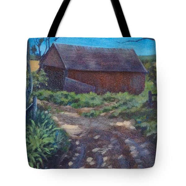 The Old Homestead Tote Bag