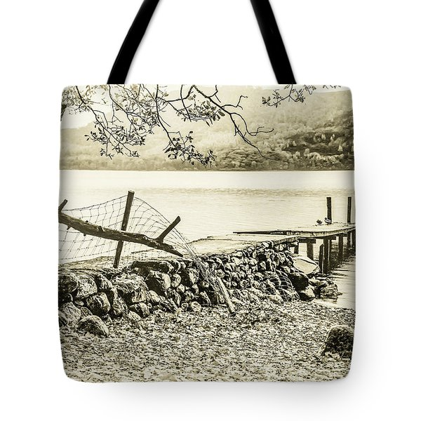 The Old Jetty Tote Bag