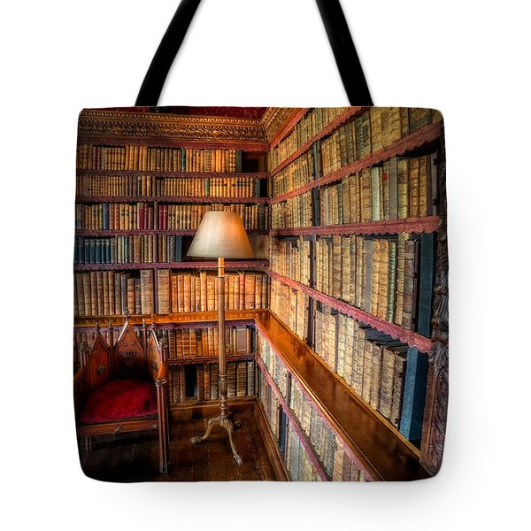 Tote Bag featuring the photograph The Old Library by Adrian Evans