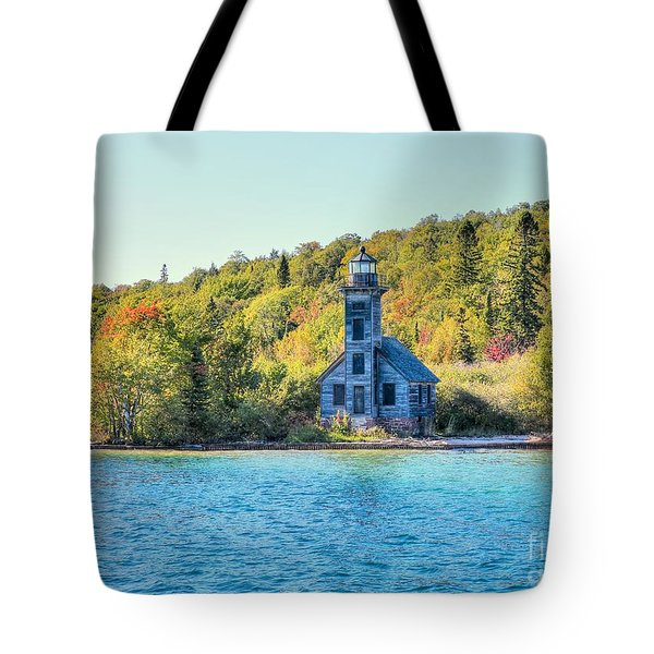 The Old Light House Tote Bag
