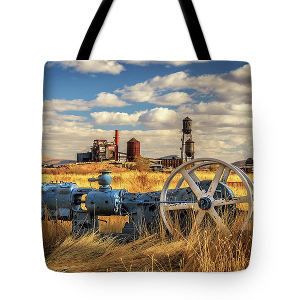 The Old Lumber Mill Tote Bag