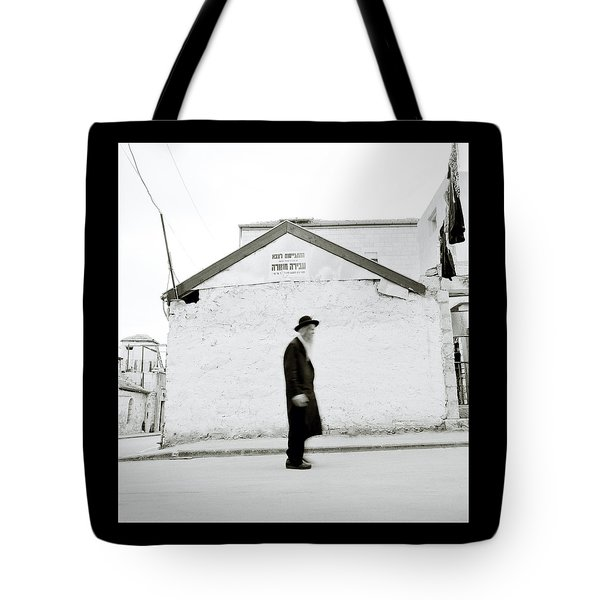 The Old Man Of Mea Shearim Tote Bag by Shaun Higson