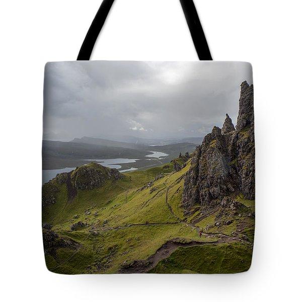 The Old Man Of Storr, Isle Of Skye, Uk Tote Bag