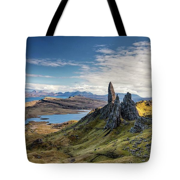 The Old Man Of Storr Tote Bag