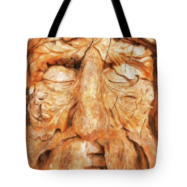 The Old Man Of The Woods By Sarah Kirk Tote Bag