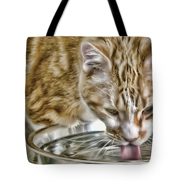The Old Man Tote Bag by Rhonda McDougall