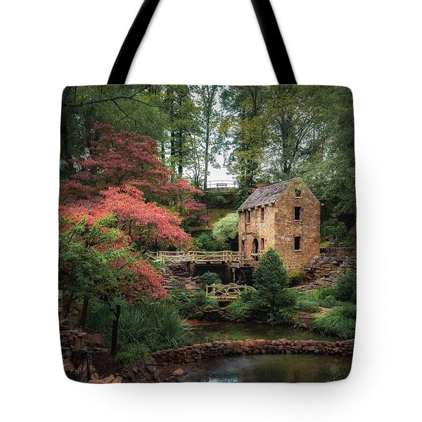 The Old Mill 5x6 Tote Bag