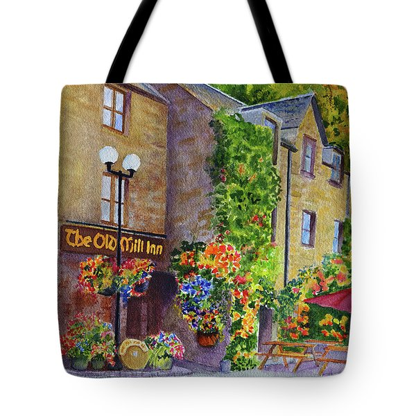 The Old Mill Inn Tote Bag