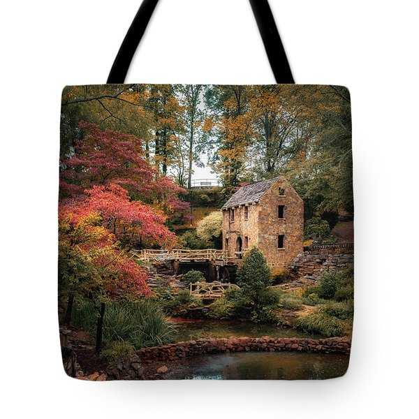The Old Mill Tote Bag by James Barber