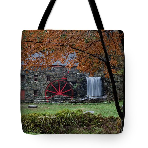 The Old Mill New England  Tote Bag