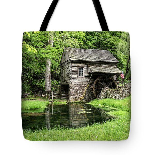 The Old Mill Tote Bag by Nicki McManus
