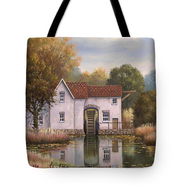 The Old Mill Tote Bag by Sean Conlon