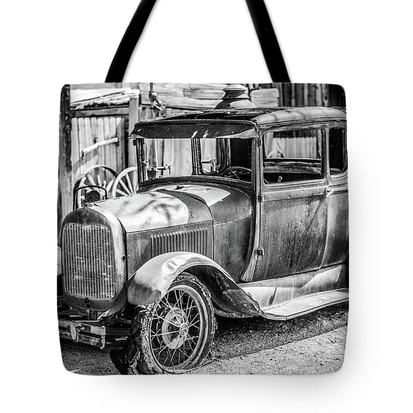 The Old Model Tote Bag by Marius Sipa