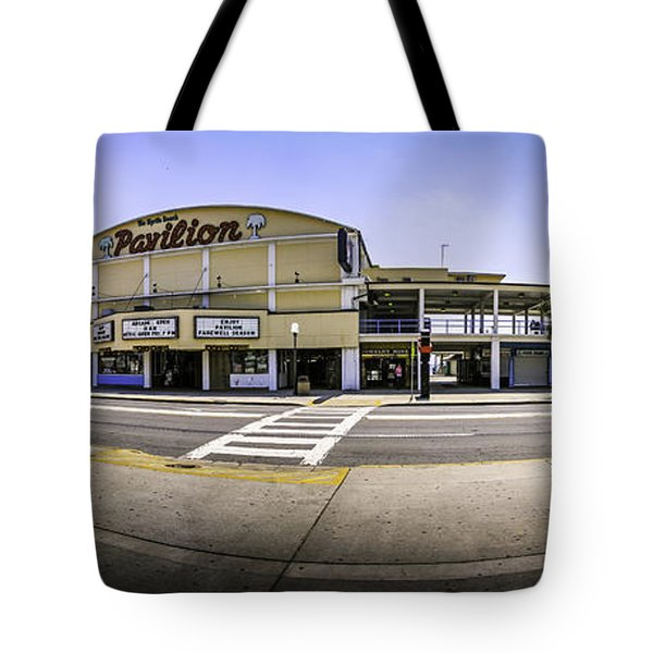 The Old Myrtle Beach Pavilion Tote Bag