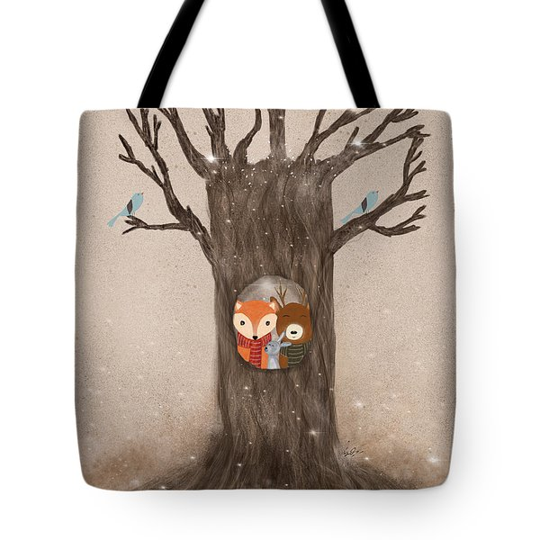 The Old Oak Tree Tote Bag