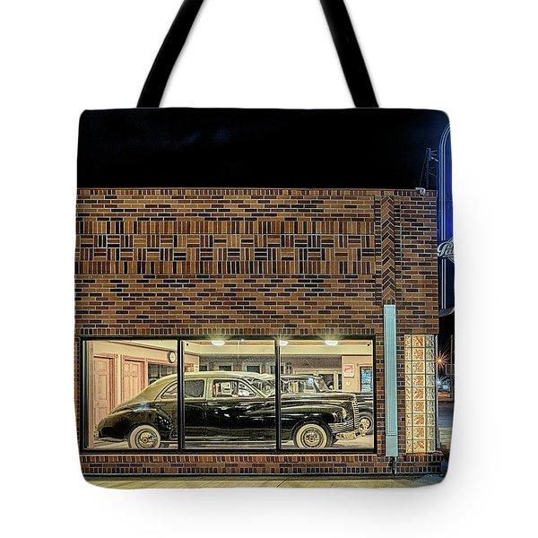 The Old Packard Dealership Tote Bag