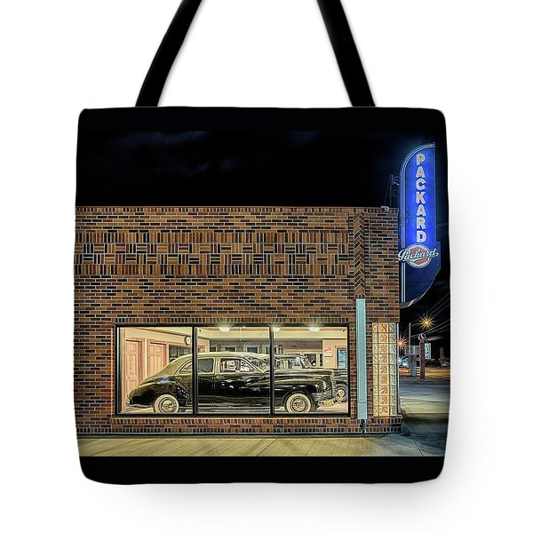 The Old Packard Dealership Tote Bag