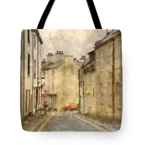 The Old Part Of Town Tote Bag